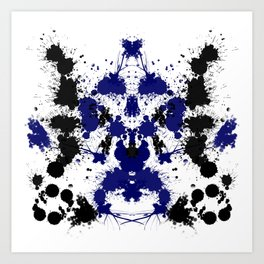 Rorschach 6 Art Print