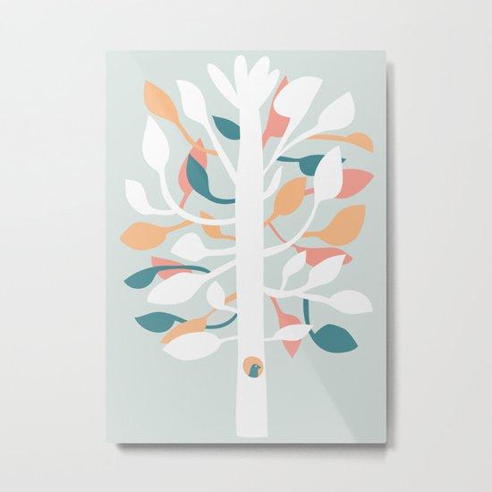 Prosperi - tree Metal Print