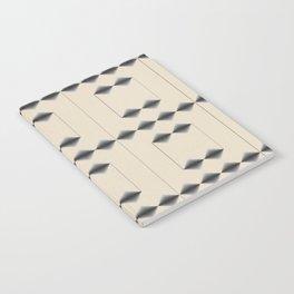 Diamond Stripes Notebook