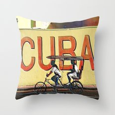 Viva Cuba Libre! Throw Pillow