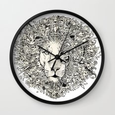 The King's Awakening Wall Clock
