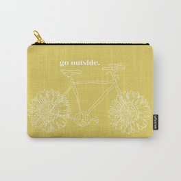 Sunflower Bike Carry-All Pouch