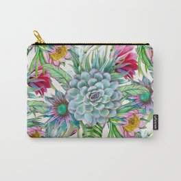 Exotic flower garden Carry-All Pouch