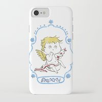 baroque iPhone & iPod Cases featuring BAROQUE by Vicky Kuhn