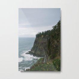 Rocky Oregon Coast Metal Print