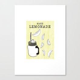 Make Lemonade Canvas Print
