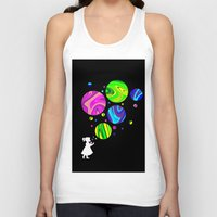 bubbles Tank Tops featuring Bubbles by Finlay McNevin
