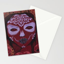 young death Stationery Cards
