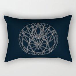 Arachne's Mandala Rectangular Pillow