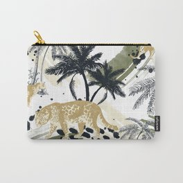 Autumn season of the Jungle I Carry-All Pouch