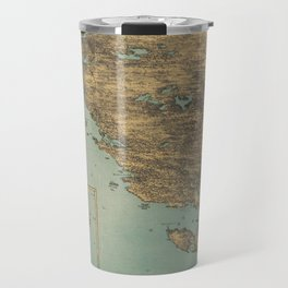 Vintage Pictorial Map of Cape Ann (1879) Travel Mug