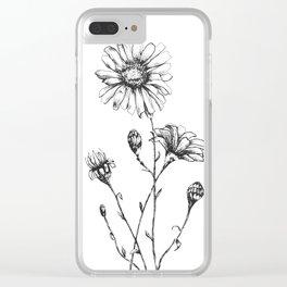 Flower Studies, 2018 Clear iPhone Case