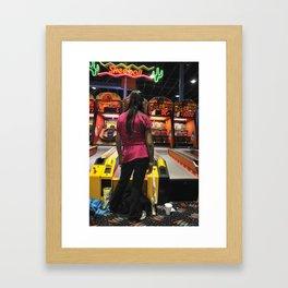 At The Arcade VI Framed Art Print