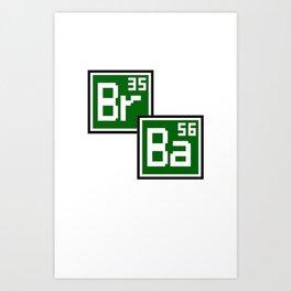 BrBa Art Print