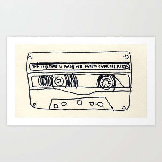 cassette schmassette Art Print