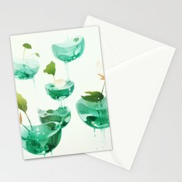 the hovering ponds. Stationery Cards
