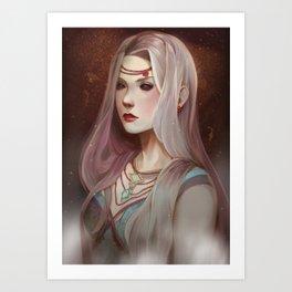 Bloodpearls Art Print