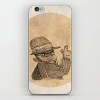 gangster iPhone & iPod Skins featuring Gangster finger by Pedro Hamdan