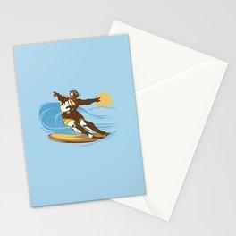 God Surfed Stationery Cards