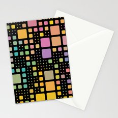 Pop Squares Stationery Cards
