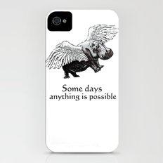 Some Days Slim Case iPhone (4, 4s)