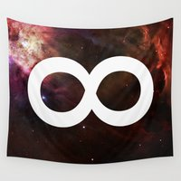 infinite Wall Tapestries featuring Infinite by Sney1