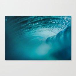 Underwater Wave by Ian Zamora Canvas Print