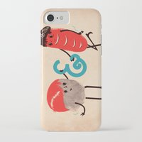 rock and roll iPhone & iPod Cases featuring Rock & Roll by Roland Lefox