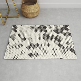 Chaotic Squares Rug