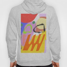 Abstrakte Formen 004 / Abstract Graffiti Composition of Hoody