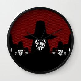 Million Mask March Wall Clock