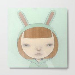 Bunny Suit I Metal Print