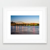 pittsburgh Framed Art Prints featuring Pittsburgh by Nathaniel Fruchter