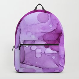 Abstract alcohol ink art painting Backpack