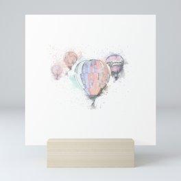 Hot Air Balloons #3 Mini Art Print