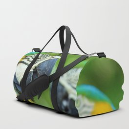 Blue-and-yellow Macaw Duffle Bag