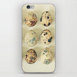 Quail Eggs iPhone Skin