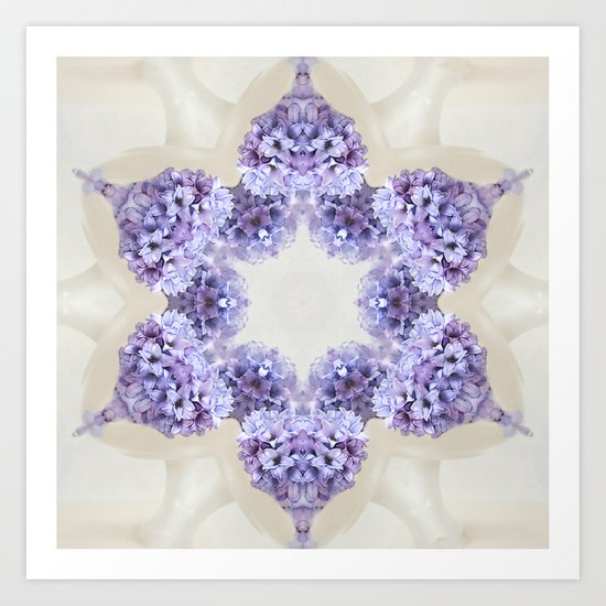simply spring N°3 (pattern/pillow) Art Print
