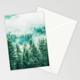 Forest + Fog #photography #nature Stationery Cards