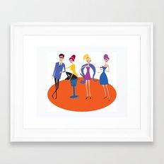 The Nice Gang Framed Art Print