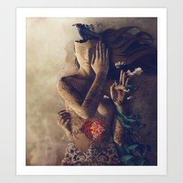 Inner Oracle Art Print