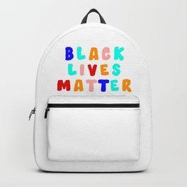 BLM Black Lives Matter Backpack