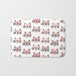 Cute cat pattern Bath Mat