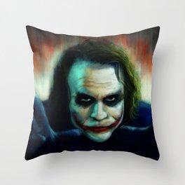 The Killing Joke Throw Pillow
