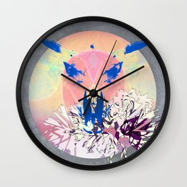 Borderland Wall Clock