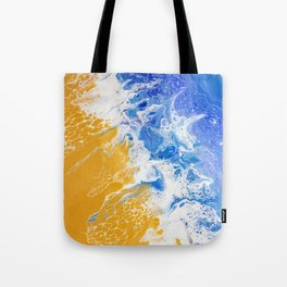 Abstract Pacific Ocean Tote Bag