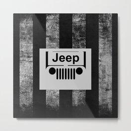 jeep retro Metal Print