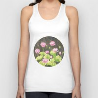 lotus flower Tank Tops featuring Lotus by Carla Adol