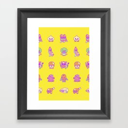 Hearty For You Framed Art Print