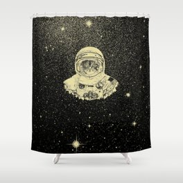 Cat Armstrong Need More Space Shower Curtain
